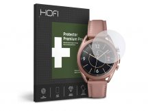HOFI Glass Pro+ üveg képernyővédő fólia - Samsung Galaxy Watch 3 (41 mm) - clear