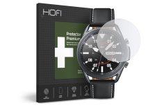 HOFI Glass Pro+ üveg képernyővédő fólia - Samsung Galaxy Watch3 (45 mm) - clear