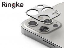 Ringke Camera Sytling hátsó kameravédő borító - Apple iPhone 12 Pro Max - silver