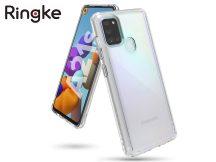 Samsung A217F Galaxy A21s ütésálló hátlap - Ringke Fusion - clear