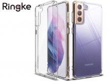Samsung G990F Galaxy S21 ütésálló hátlap - Ringke Fusion - clear