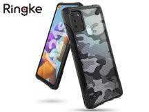 Samsung A217F Galaxy A21s ütésálló hátlap - Ringke Fusion X - camo black