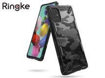 Samsung A715F Galaxy A71 ütésálló hátlap - Ringke Fusion X - camo black