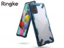 Samsung A715F Galaxy A71 ütésálló hátlap - Ringke Fusion X - space blue