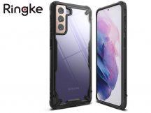 Samsung G996F Galaxy S21+ ütésálló hátlap - Ringke Fusion X - black