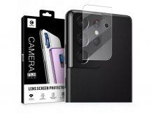 Mocolo TG+ hátsó kameralencse védő edzett üveg - Samsung G998F Galaxy S21 Ultra - transparent