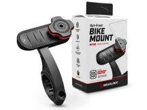 Spigen Gearlock kerékpárra szerelhető telefontartó / rögzítő rendszer AU100 adapterrel - Gearlock MF100 Out-Front Bike Mount - fekete