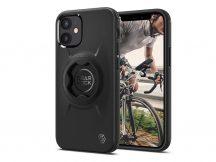 Apple iPhone 12 Mini ütésálló hátlap Gearlock MF100/MS100 kerékpárra szerelhető telefontartó / rögzítő rendszerhez -  Spigen Gearlock GCF133 - black
