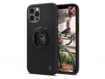 Apple iPhone 12 Pro Max ütésálló hátlap Gearlock MF100/MS100 kerékpárra szerelhető telefontartó / rögzítő rendszerhez -  Spigen Gearlock GCF131 - black