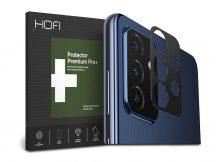 HOFI Metal Camera Sytling hátsó kameravédő borító - Samsung A725F Galaxy A72/A726B Galaxy A72 5G - black