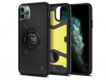 Apple iPhone 11 Pro ütésálló hátlap Gearlock MF100/MS100 kerékpárra szerelhető telefontartó / rögzítő rendszerhez -  Spigen Gearlock GCF113 - black