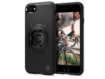 Apple iPhone 7/iPhone 8/SE 2020 ütésálló hátlap Gearlock MF100/MS100 kerékpárra szerelhető telefontartó / rögzítő rendszerhez -  Spigen Gearlock GCF121 - black