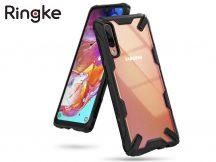 Samsung A705F Galaxy A70 ütésálló hátlap - Ringke Fusion X - black