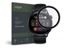 HOFI Hybrid Glass üveg képernyővédő fólia - Huawei Watch 3 (46 mm) - black