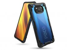 Xiaomi Poco X3 Pro/Poco X3 NFC ütésálló hátlap - Ringke Fusion X - black