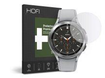 HOFI Glass Pro+ üveg képernyővédő fólia - Samsung Galaxy Watch4 Classic (46 mm) - clear