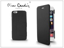 Apple iPhone 6 flipes slim tok - Pierre Cardin DeLuxe Slim Folio - black