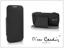 Samsung i9190 Galaxy S4 Mini flipes slim tok - Pierre Cardin DeLuxe Slim Folio - black