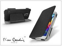 Samsung SM-G900 Galaxy S5 flipes slim tok - Pierre Cardin DeLuxe Slim Folio - black