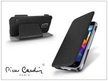 Samsung SM-G800 Galaxy S5 Mini flipes slim tok - Pierre Cardin DeLuxe Slim Folio - black