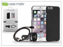 Apple iPhone 6 Plus/6S Plus hátlap (black) + képernyővédő fólia + szivargyújtós töltő adatkábellel - Case-Mate 4in1