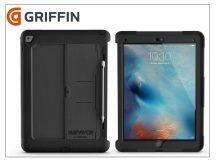 Apple iPad Pro 12.9 (2016)/iPad Pro 12.9 (2017) ütésálló védőtok - Griffin Survivor Slim - black/black
