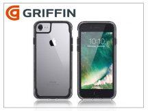 Apple iPhone 6/6S/7 ütésálló védőtok - Griffin Survivor Clear - black/clear