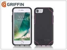 Apple iPhone 6/6S/7/8 ütésálló védőtok - Griffin Survivor Journey - black/pink
