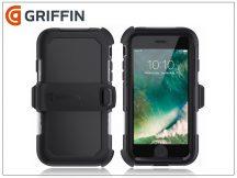 Apple iPhone 6/6S/7/8 ütésálló védőtok - Griffin Survivor Summit - black/clear
