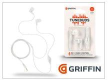 Griffin univerzális sztereó fülhallgató - 3,5 mm jack - Griffin Tunebuds - fehér