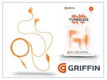 Griffin univerzális sztereó fülhallgató - 3,5 mm jack - Griffin Tunebuds - narancs