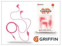 Griffin univerzális sztereó fülhallgató - 3,5 mm jack - Griffin Tunebuds - pink
