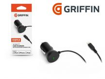 Apple iPhone 5/5S/5C/SE/iPad 4/iPad Mini Lightning szivargyújtós töltő (Apple MFI engedélyes) - 5V/2.1A - 10 W - Griffin Car Charger - black