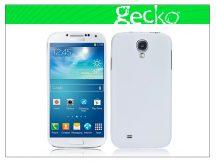 Samsung i9500 Galaxy S4 hátlap képernyővédő fóliával - Gecko Ultra Slim - white