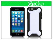 Apple iPhone 6 ütésálló védőtok - Gecko Rugged Hybrid - black/white