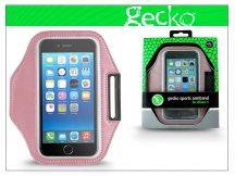 Apple iPhone 6/6s/7/8 kartok sportoláshoz - Gecko Sports Armband - pink