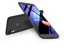 Xiaomi Redmi S2 hátlap - GKK 360 Full Protection 3in1 - fekete