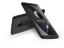 Samsung G965F Galaxy S9 Plus hátlap - GKK 360 Full Protection 3in1 - fekete