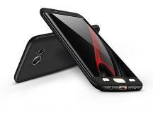 Samsung G935F Galaxy S7 Edge hátlap - GKK 360 Full Protection 3in1 - fekete