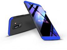 Samsung A605 Galaxy A6 Plus (2018) hátlap - GKK 360 Full Protection 3in1 - fekete/kék
