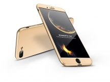 Apple iPhone 7 Plus/8 Plus hátlap - GKK 360 Full Protection 3in1 - gold