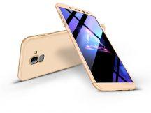Samsung A600F Galaxy A6 (2018) hátlap - GKK 360 Full Protection 3in1 - arany