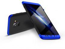 Samsung A530F Galaxy A8 (2018) hátlap - GKK 360 Full Protection 3in1 - fekete/kék