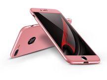 Apple iPhone 7 hátlap - GKK 360 Full Protection 3in1 - Logo - rose gold