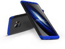 Samsung G960F Galaxy S9 hátlap - GKK 360 Full Protection 3in1 - fekete/kék