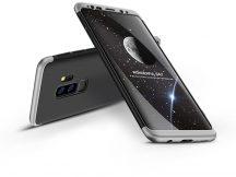 Samsung G965F Galaxy S9 Plus hátlap - GKK 360 Full Protection 3in1 - fekete/ezüst