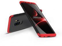 Samsung G965F Galaxy S9 Plus hátlap - GKK 360 Full Protection 3in1 - fekete/piros