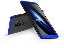 Samsung G965F Galaxy S9 Plus hátlap - GKK 360 Full Protection 3in1 - fekete/kék