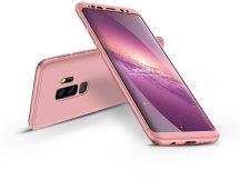 Samsung G965F Galaxy S9 Plus hátlap - GKK 360 Full Protection 3in1 - rose gold