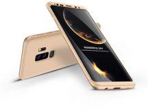 Samsung G965F Galaxy S9 Plus hátlap - GKK 360 Full Protection 3in1 - arany